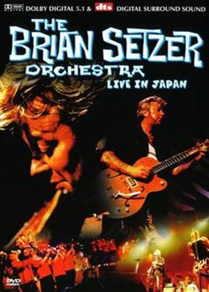 Rent Brian Setzer: Live in Japan Online DVD Rental
