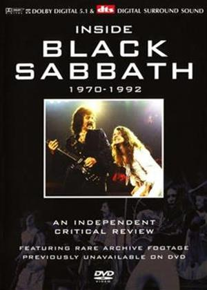 Rent Black Sabbath: Inside: 1970-1992 Online DVD Rental