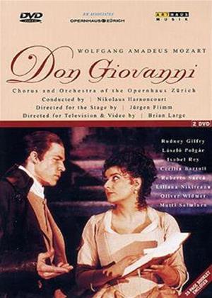 Rent Mozart: Don Giovanni: Zurich Opera House Online DVD Rental