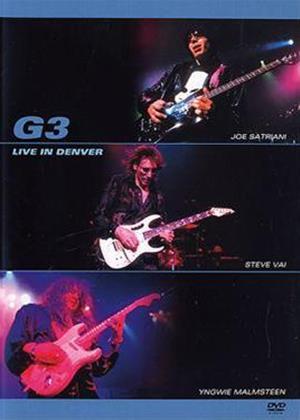 G3: Live in Denver Online DVD Rental
