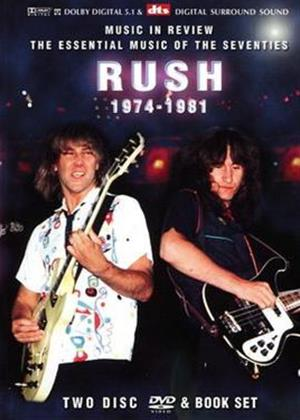 Rush: Music in Review 1974-1981 Online DVD Rental