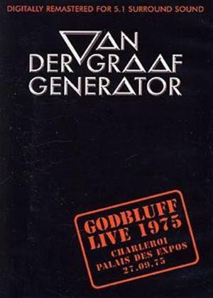 Van Der Graaf Generator: Godbluff Live Online DVD Rental