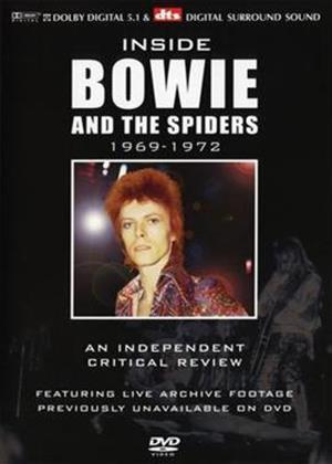 Rent David Bowie: Inside David Bowie 1969 to 1974 Online DVD Rental