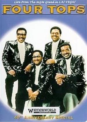 The Four Tops: 40th Anniversary Special Online DVD Rental