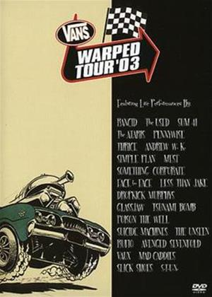Rent Vans Warped Tour 2003 Online DVD Rental