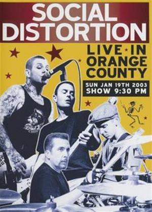 Social Distortion: Live in Orange County Online DVD Rental