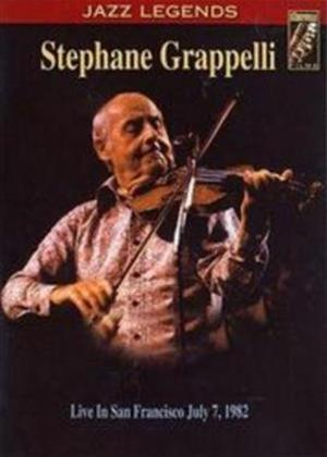 Rent Stephane Grappelli: Live in San Francisco Online DVD Rental
