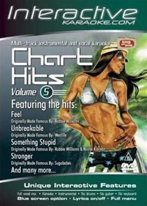 Rent Interactive Karaoke: Chart Hits: Vol.5 Online DVD Rental