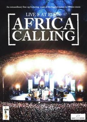 Rent Live 8 at Eden: Africa Calling Online DVD Rental