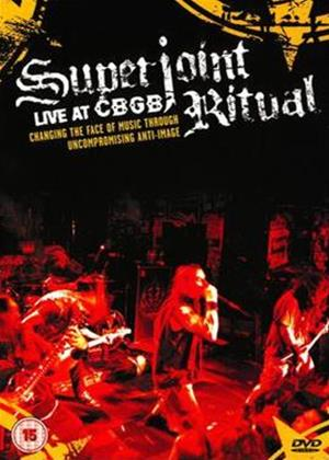 Superjoint Ritual: Live at CBGB's Online DVD Rental
