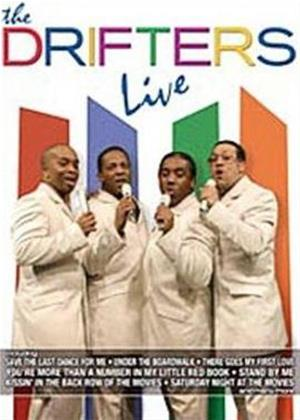 The Drifters: Live Online DVD Rental
