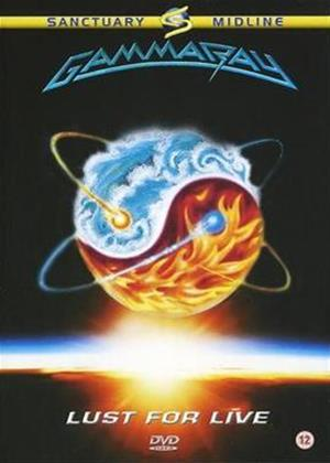 Rent Gamma Ray: Lust for Live Online DVD Rental