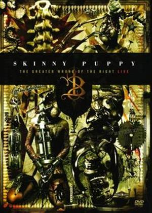 Skinny Puppy: The Greater Wrong of The Right: Live Online DVD Rental