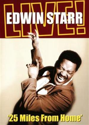 Edwin Starr: 25 Miles from Home: Live Online DVD Rental
