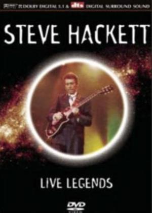 Rent Steve Hackett: Live Legends Online DVD Rental