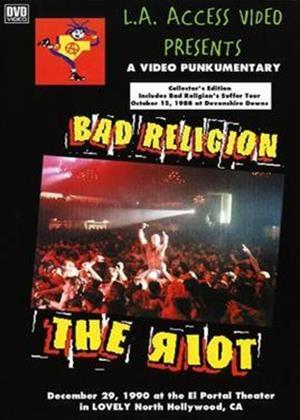 Rent Bad Religion: The Riot Online DVD Rental