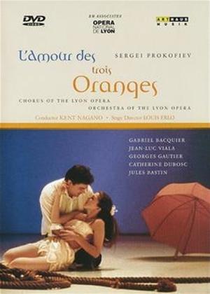 Rent Prokofiev: L'Amour Des Trois Oranges Online DVD Rental