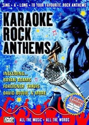 Rent Karaoke: Rock Anthems Online DVD Rental