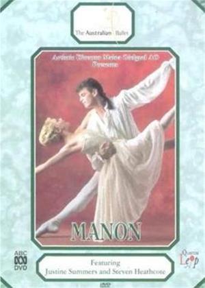 Manon: The Australian Ballet Online DVD Rental