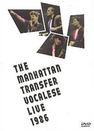 Manhattan Transfer: Vocalese Live 1986 Online DVD Rental