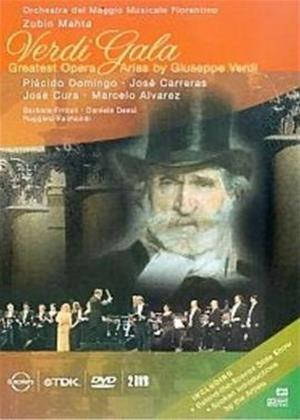 Verdi: Gala: Greatest Operatic Arias from Giuseppe Verdi Online DVD Rental
