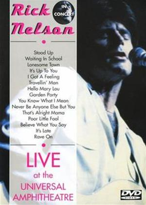 Rent Rick Nelson: Live at the Universal Amphitheatre Online DVD Rental