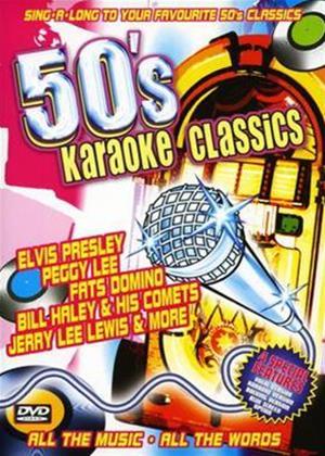 50's Karaoke Classics Online DVD Rental