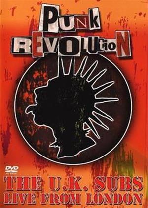 UK Subs: The Punk Revolution: Live in London Online DVD Rental