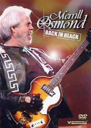 Merrill Osmond: Back in Black Online DVD Rental