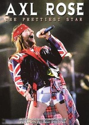 Axl Rose: The Prettiest Star Online DVD Rental