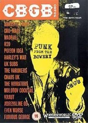CBGB: Punk from the Bowery Online DVD Rental
