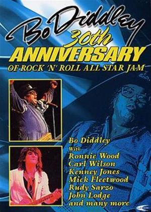 Bo Diddley's 30th Anniversary: All Star Jam Online DVD Rental