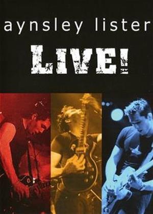Rent Aynsley Lister: Live Online DVD Rental