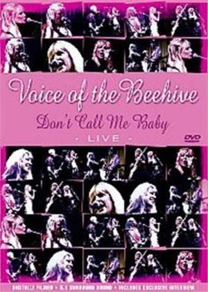 The Voice of the Beehive: Live: Don't Call Me Baby Online DVD Rental