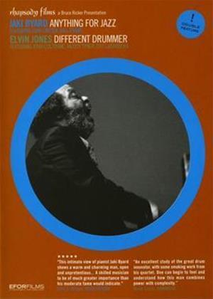Rent Jaki Byard: Anything for Jazz / Elvin Jones: Different Drummer Online DVD Rental