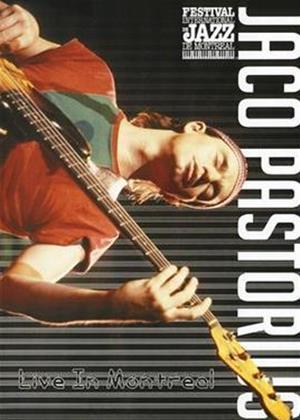 Jaco Pastorius: Live in Montreal Online DVD Rental