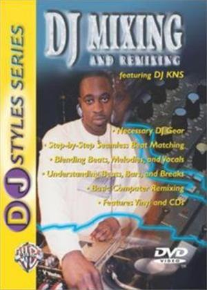 Rent DJ Mixing and Remixing Online DVD Rental