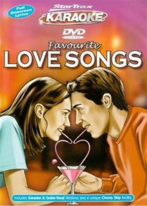 Startrax Karaoke: Favourite Love Songs Online DVD Rental