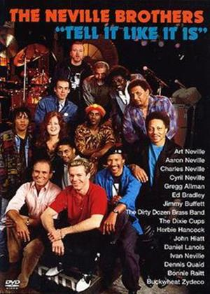 The Neville Brothers: Tell It Online DVD Rental