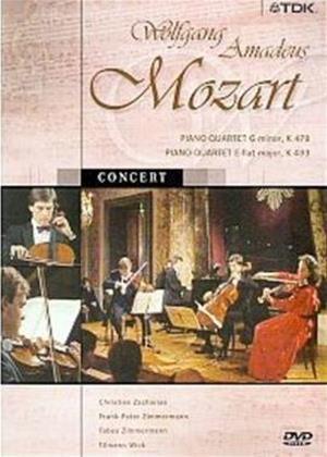 Rent Mozart: Piano Quartets K 478 and K 493 Online DVD Rental