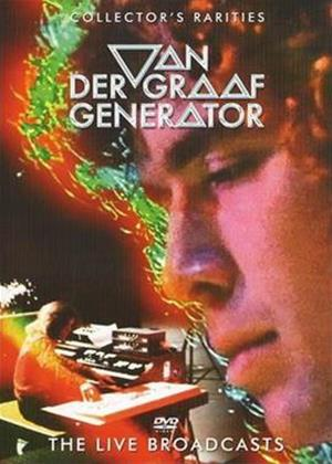 Rent Van Der Graaf Generator: The Live Broadcasts Online DVD Rental