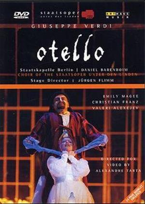 Rent Verdi: Otello: Berlin State Opera Online DVD Rental