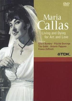Rent Maria Callas: Living and Dying for Art and Love Online DVD Rental
