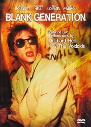 Blank Generation Online DVD Rental