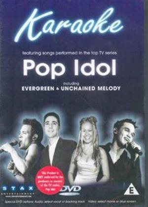 Pop Idols Karaoke Online DVD Rental