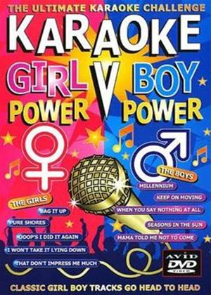 Rent Karaoke Girl Power vs Boy Power Online DVD Rental
