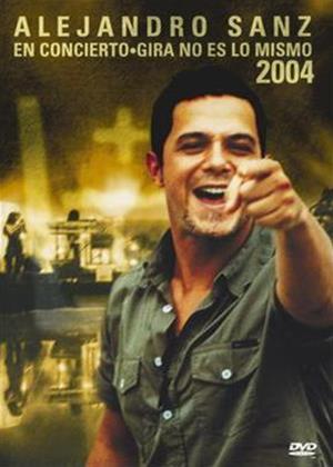 Alejandro Sanz: Concierto Gira No Es Mismo Online DVD Rental