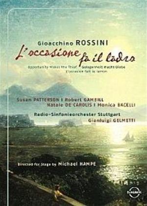 Rent Rossini: L'Occasione Fa Il Ladro Online DVD Rental