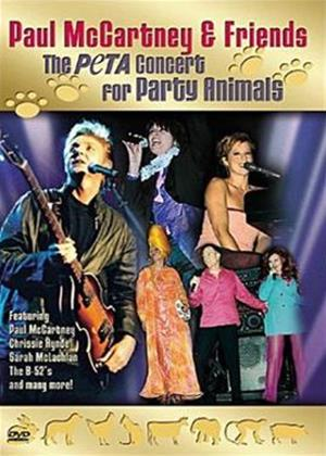 Paul McCartney and Friends: The PETA Concert for Party Animals Online DVD Rental