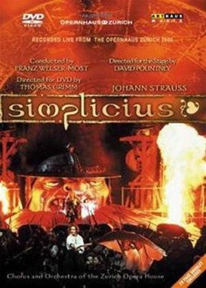 Johann Strauss: Simplicius Online DVD Rental